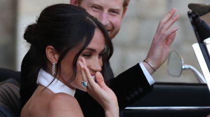 Harry gaf Meghan ring van Lady Di