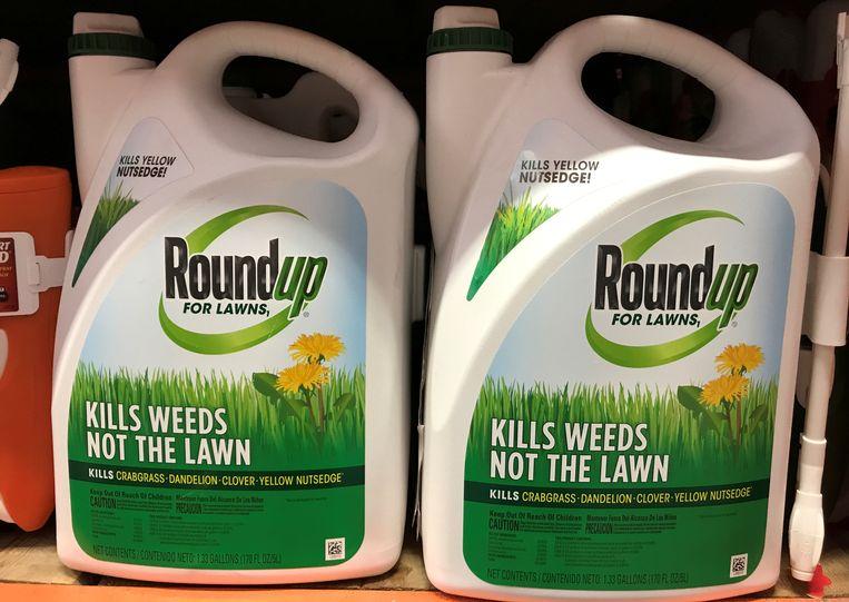 Het verdelgingsmiddel Roundup. Beeld REUTERS