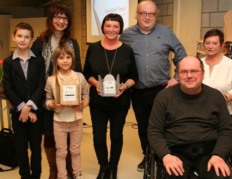 De awards werden voor de vierde keer uitgereikt door Toegankelijk Tienen.