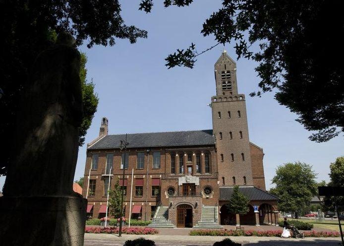 Het raadhuis in Winterswijk, de centrale locatie van het Grensland College.