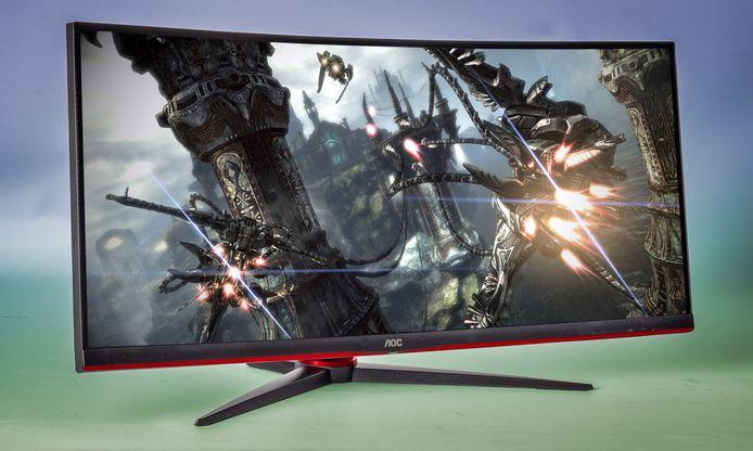 Ultrawide monitor.