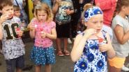 Wereldrecordpoging zeepbellen blazen bij Zeeman