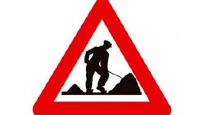 Vijvestraat tijdelijk onderbroken door wegenwerken