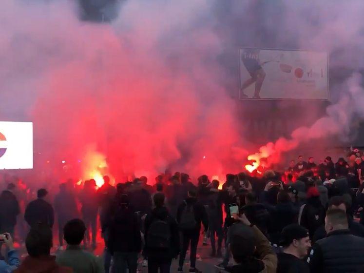 Willem II-supporters negeren coronaregels bij voetbalfeest