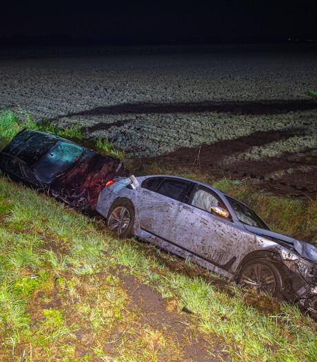 Bestuurder slaat op de vlucht na veroorzaken ernstig ongeval op N307 tussen Dronten en Kampen