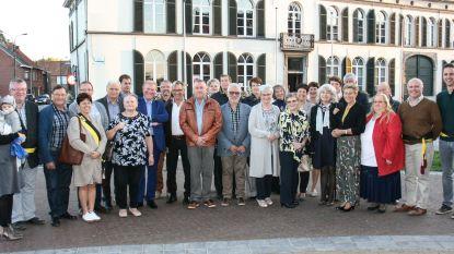 60-jarigen vieren feest in Overmere