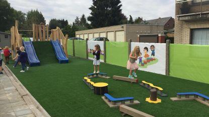 Basisschool Faluintjes Moorsel opent vernieuwde en uitgebreide speelplaats