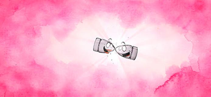 Een beeld uit de korte animatiefilm 'Bullet Time' van Frodo Kuipers. De film is deels gemaakt bij Studio Nova in Tilburg