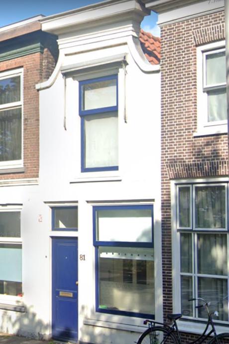 Dit is het allerkleinste huis in Gouda dat nu te koop staat. Klein maar fijn!
