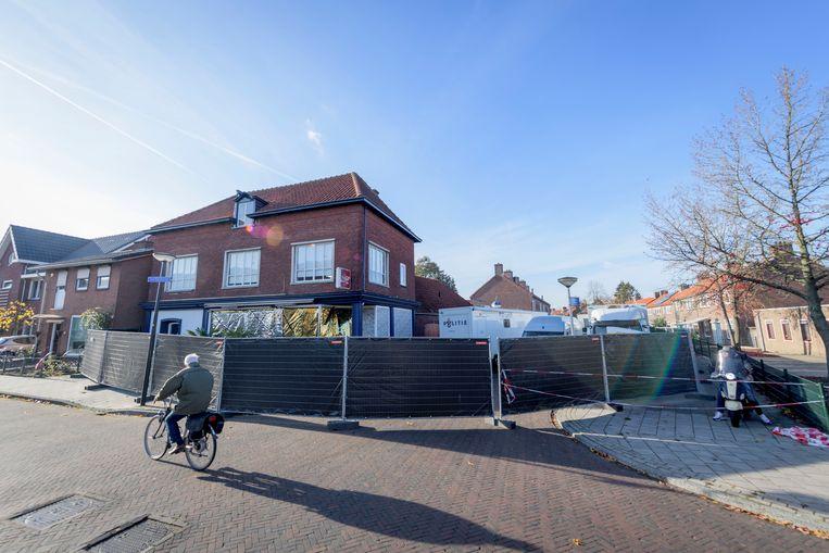 De plaats delict in Enschede.