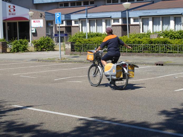 De geldkiosk komt op het parkeerterrein bij De Huif.
