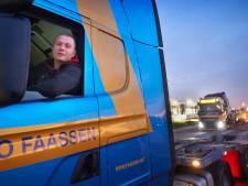 Truckparking Meierijstad van de baan, wel een zogenaamde 'smart hub'