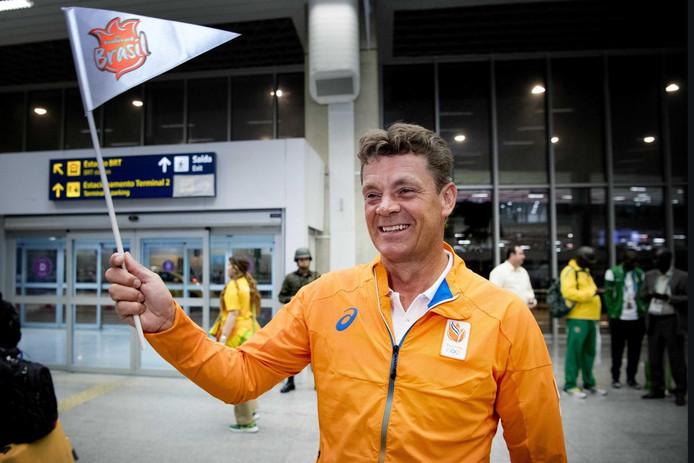 Jeroen Dubbeldam, kort na aankomst in Rio.