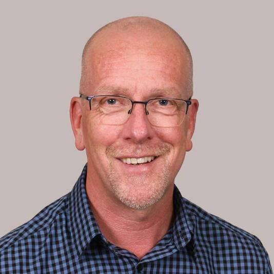 Voorzitter Roeland van de Velde van ondernemersvereniging Collectief Roosendaal.