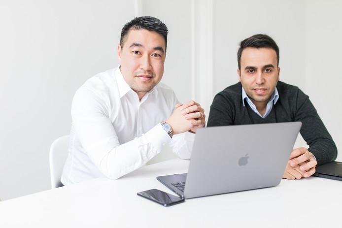 Qi Li en Serhat Elban van Pescheck.