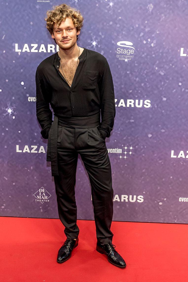 Soy Kroon tijdens de premiere van de musical Lazarus in DeLaMar Theater te Amsterdam. Beeld null