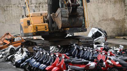Korte metten met smokkelwaar: Filipijnse president Duterte vernietigt 122 luxueuze motorfietsen