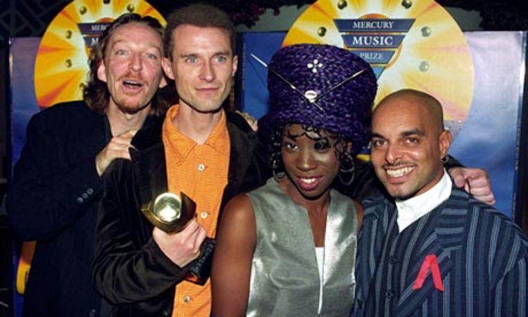 Andrew - Shovell - met zijn collega's van M People.