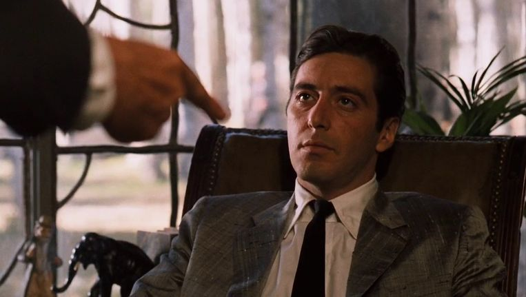 Al Pacino in The Godfather: Part II. Beeld