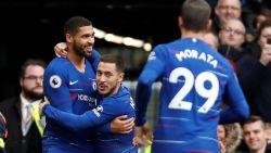 Eden Hazard met assist voor beslissende 2-0 in derby van West-Londen tegen Fulham