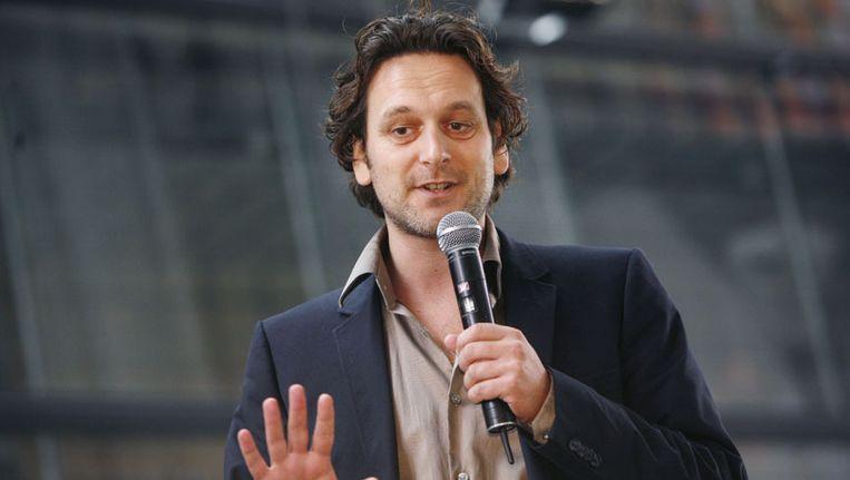 Kinderboekenschrijver Jan Paul Schutten Beeld anp