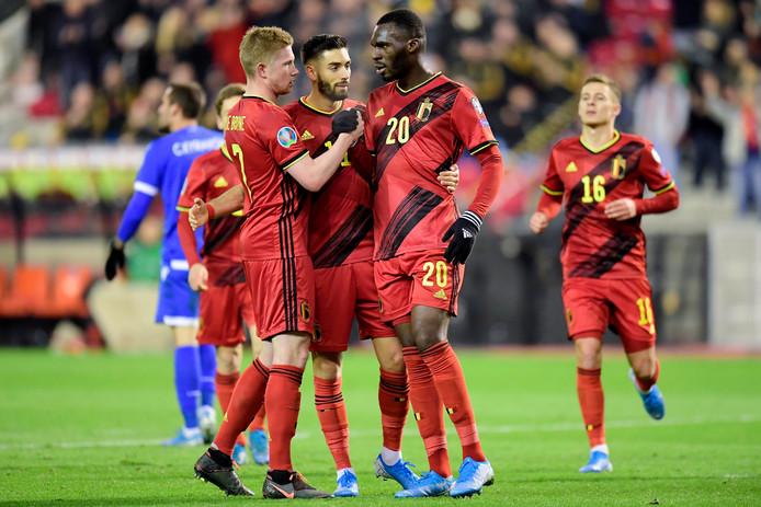 Les Diables joueront quatre matchs de préparation avant l'Euro, dont un à Bruxelles, en juin.