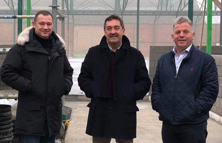 Hans Hendrickx, Johnny Reweghs en Peter Reekmans.