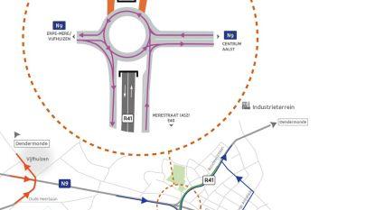 Gentsesteenweg vanaf vrijdag in twee richtingen open voor verkeer