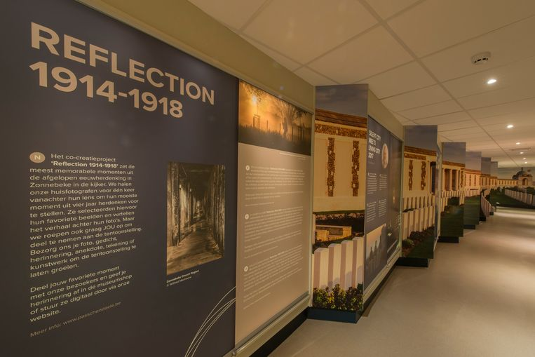 Iedereen kan deelnemen aan de tentoonstelling 'Reflection 1914-1918'
