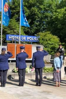 Les sirènes ont résonné à Liège en hommage à Cathy et Soraya
