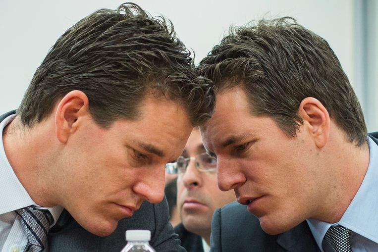 De tweeling Tyler en Cameron Winklevoss