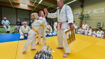Norbert (76) al vijftig jaar judotrainer