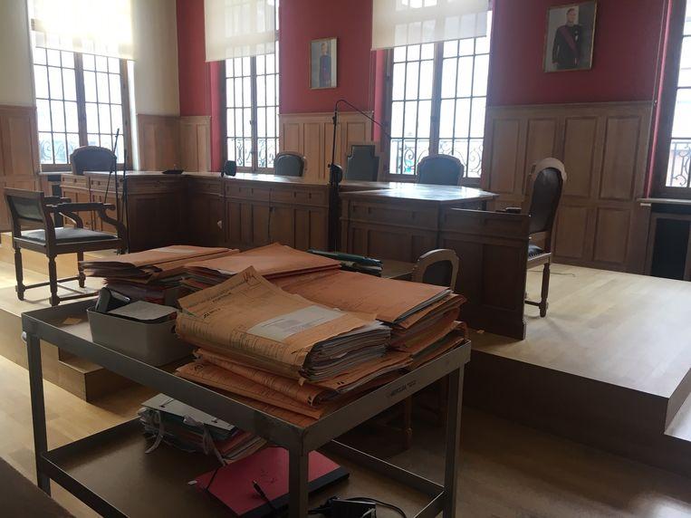 De Bulgaren moesten voor de rechtbank in Kortrijk verschijnen.