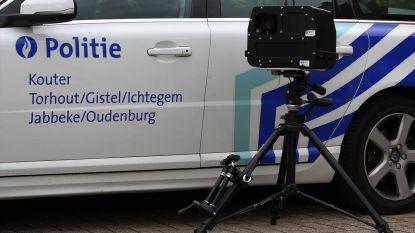 Liefst 567 hardrijders betrapt in 1 week in Torhout
