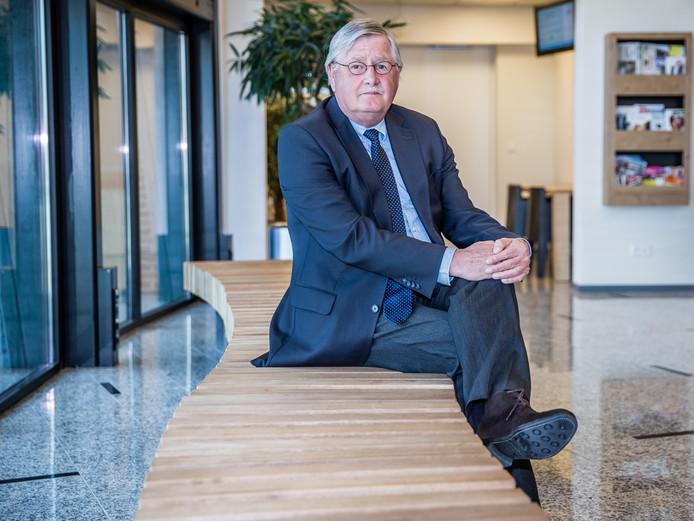 Wethouder Izak Vogelaar.