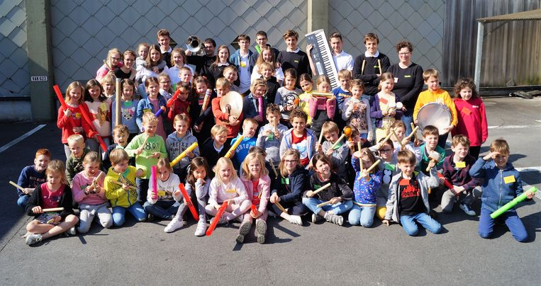 52 kinderen genieten van de Muzimax-tweedaagse van Vermaak Na Arbeid