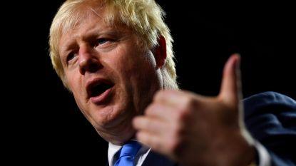 """Boris Johnson: """"Hoe meer parlementsleden no deal-brexit willen stoppen, hoe waarschijnlijker die wordt"""""""