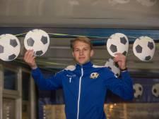 RKVVO-goalie Sven van den Oever wordt een Roadrunner