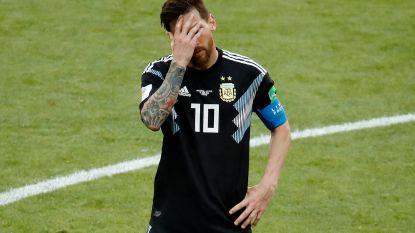Penaltymisser Messi luidt zuur Argentijns puntenverlies in tegen stug IJsland