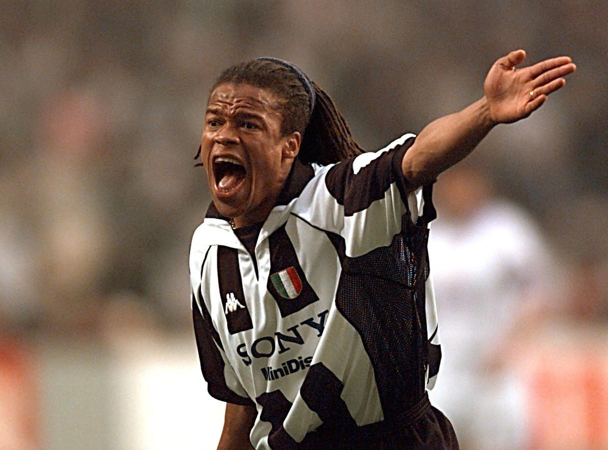 Edgar Davids in 1998 als speler van Juventus.