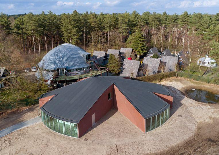 Het nieuwe paviljoen van het Frans Masereel Centrum