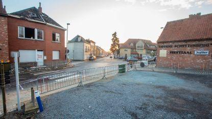 Asbestdeeltjes verspreid tijdens brand: caféparking blijft voorlopig gedeeltelijk afgesloten