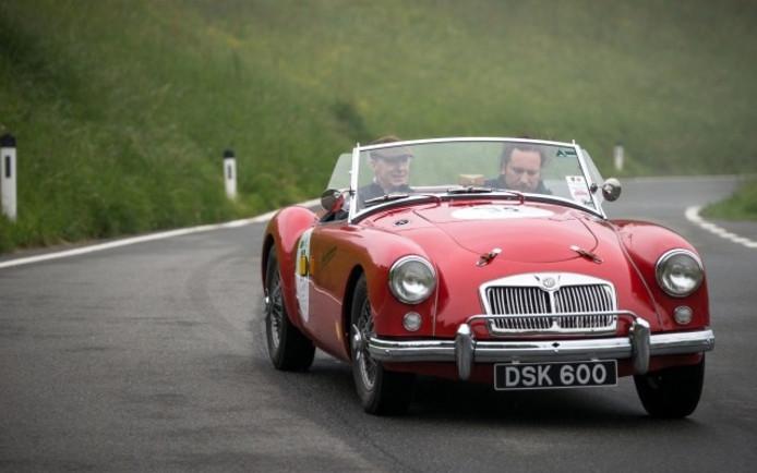 Een klassieke MG.