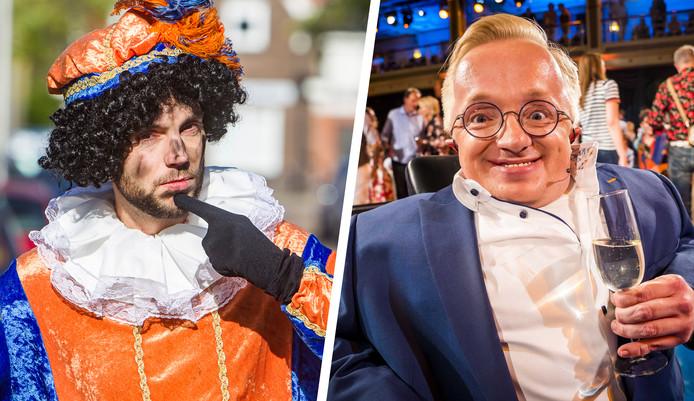 'Minister van Gehandicaptenzaken' Rick Brink (r) wil graag pieten met een beperking bij de intocht in Apeldoorn.