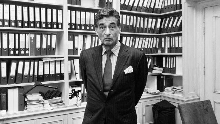 Strafrechtadvocaat Gerard Spong Beeld Roï Shiratski
