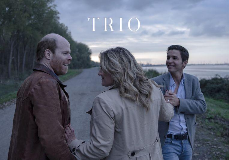 Cinema Storck ontvangt de acteurs van de film Trio