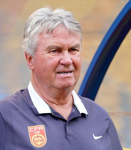 'Guus Hiddink ontslagen in China'