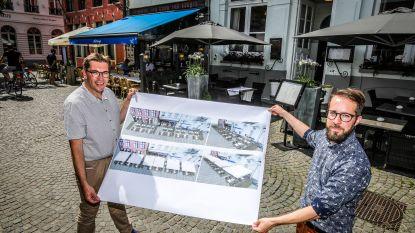Brugge heeft akkoord met Vlaanderen: nieuwe terrassen voor Vismarkt en Huidevettersplein, maar één soort parasol per plein