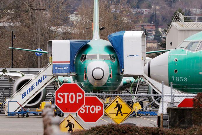 Archieffoto van een Boeing 737 MAX.