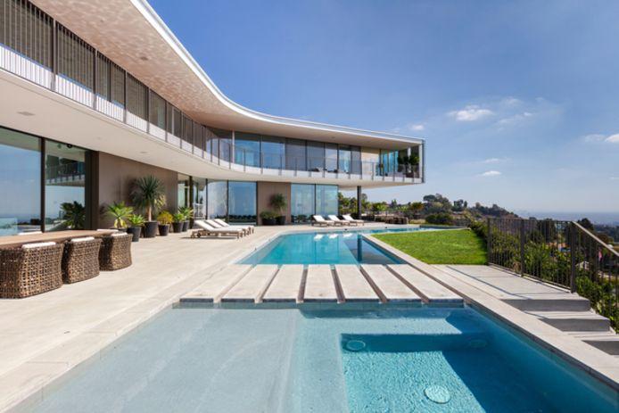 Het glazen huis in Los Angeles.